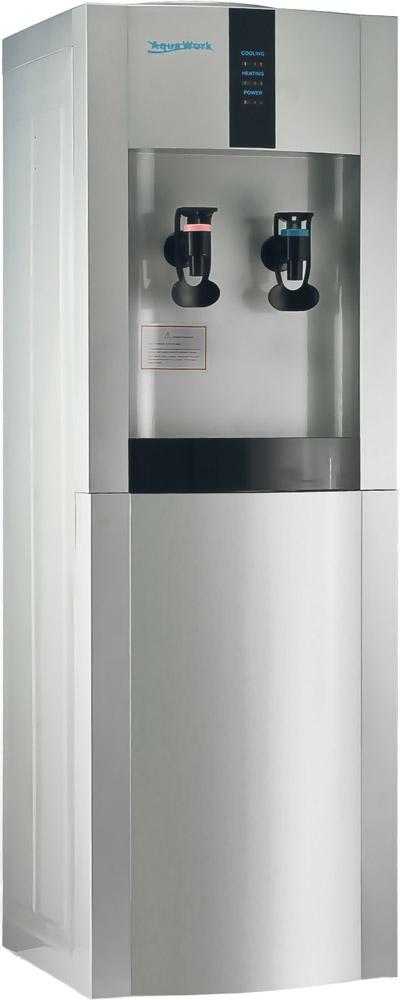 Кулер для воды Aqua Work 16-L/EN серебристый