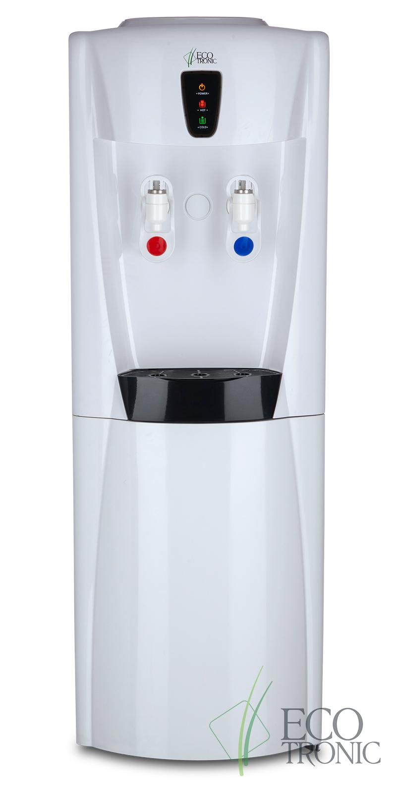 Кулер Ecotronic G31-LCE white со шкафчиком