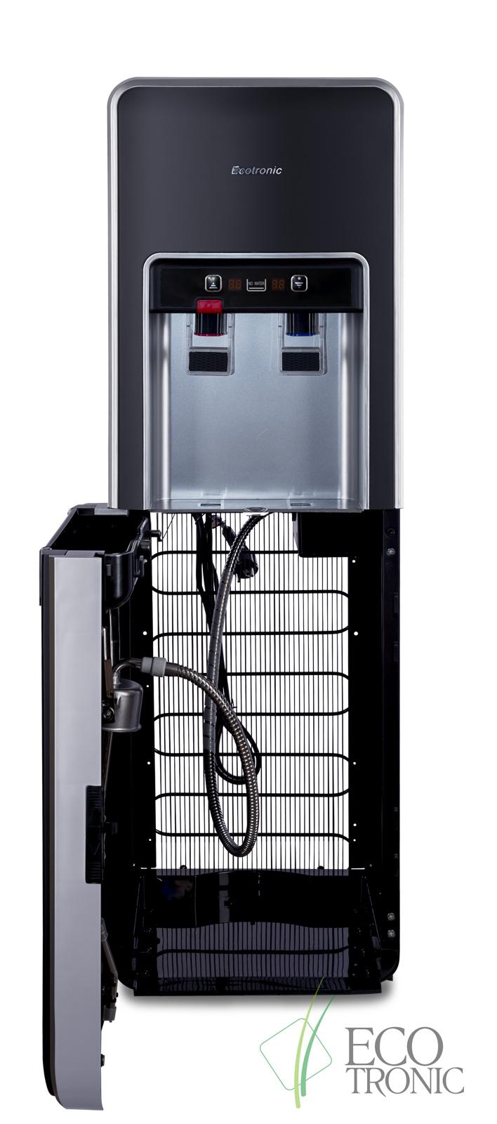 Кулер Ecotronic P5-LXPM black с нижней загрузкой бутыли