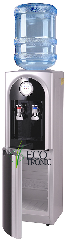 Кулер Ecotronic C21-LCE black со шкафчиком
