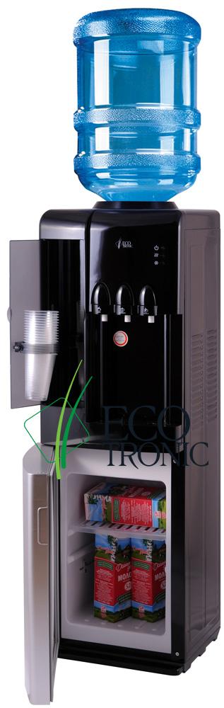 Кулер Ecotronic C7-LF black/silver с холодильником