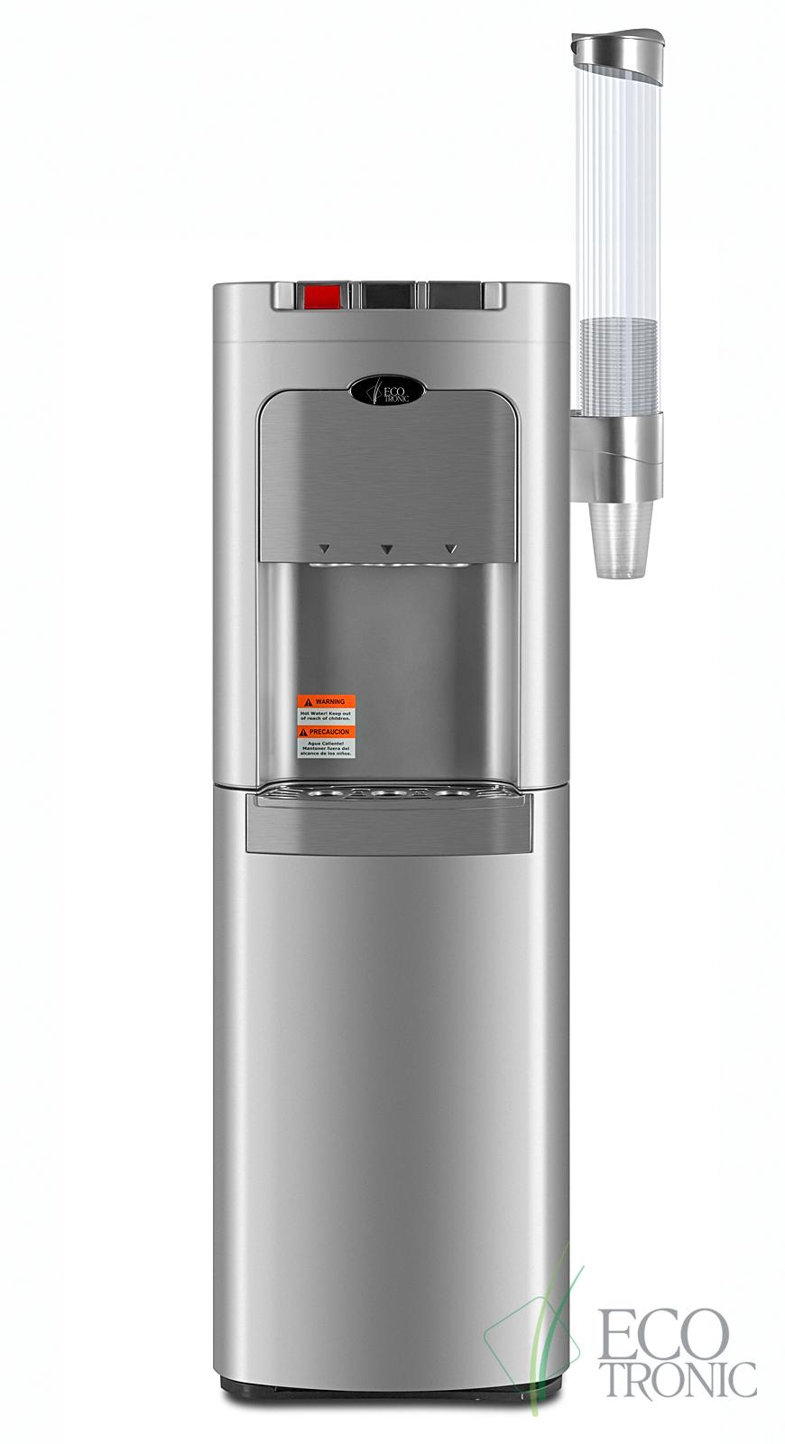Кулер Ecotronic C8-LX silver с нижней загрузкой бутыли
