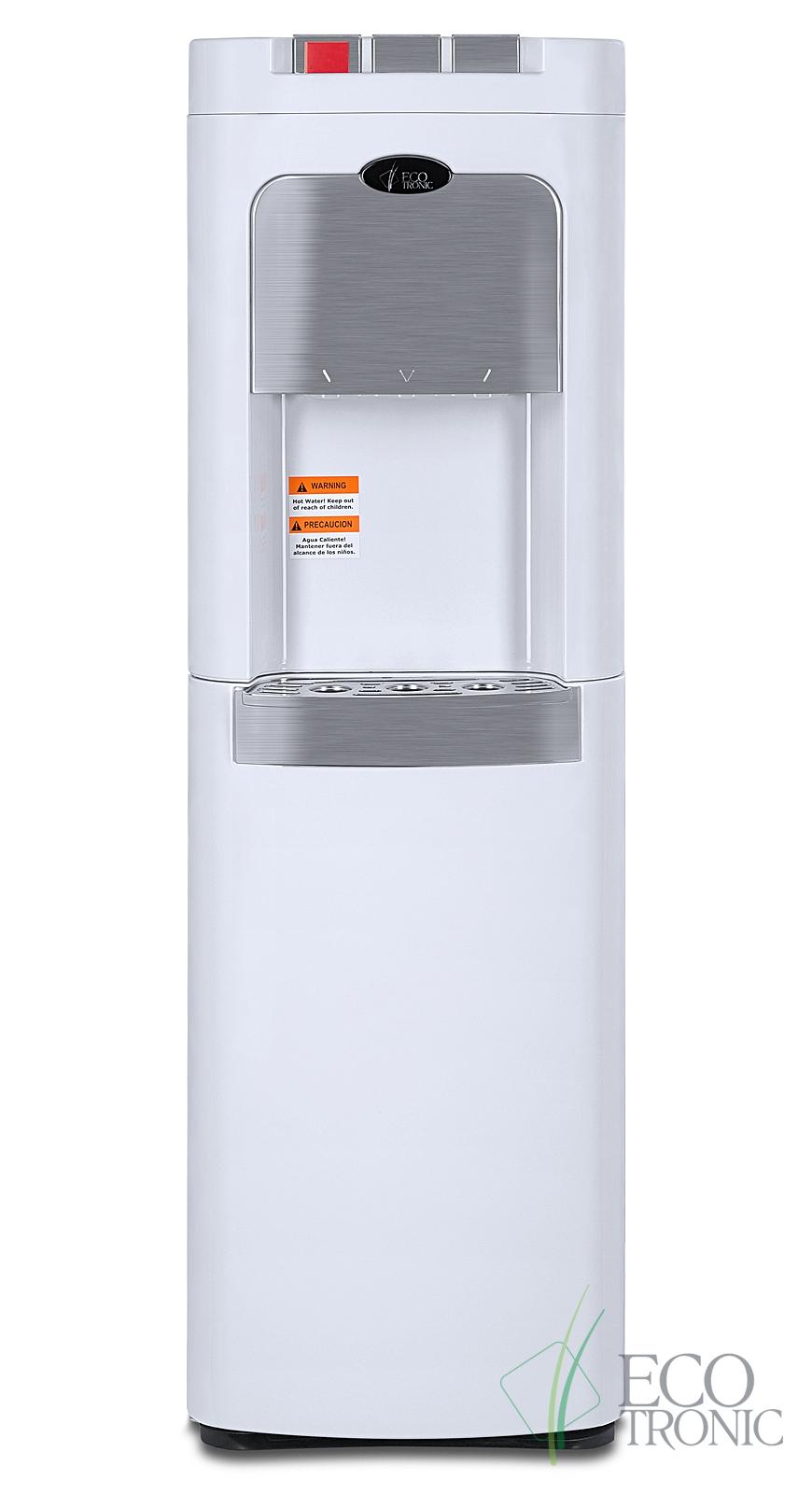 Кулер Ecotronic C8-LX white с нижней загрузкой бутыли