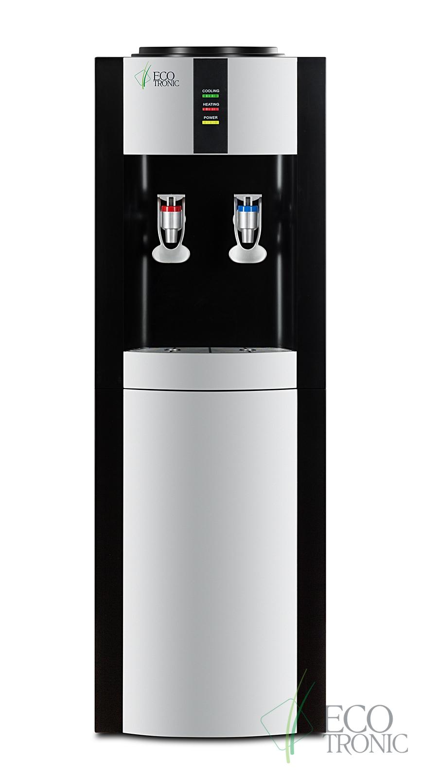 Кулер Ecotronic H1-LCE Black со шкафчиком