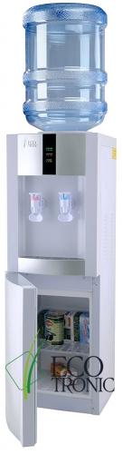 Кулер Ecotronic H1-LCE White со шкафчиком