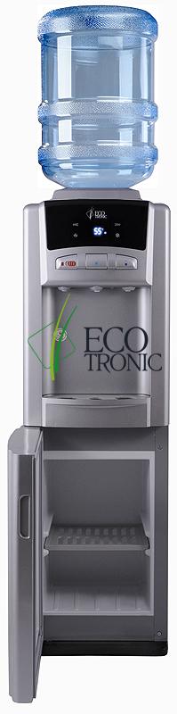 Кулер со шкафчиком и монитором Ecotronic M6-LCPM