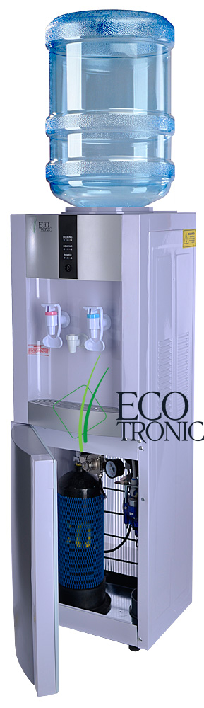 Кулер Ecotronic H1-L CARBO White