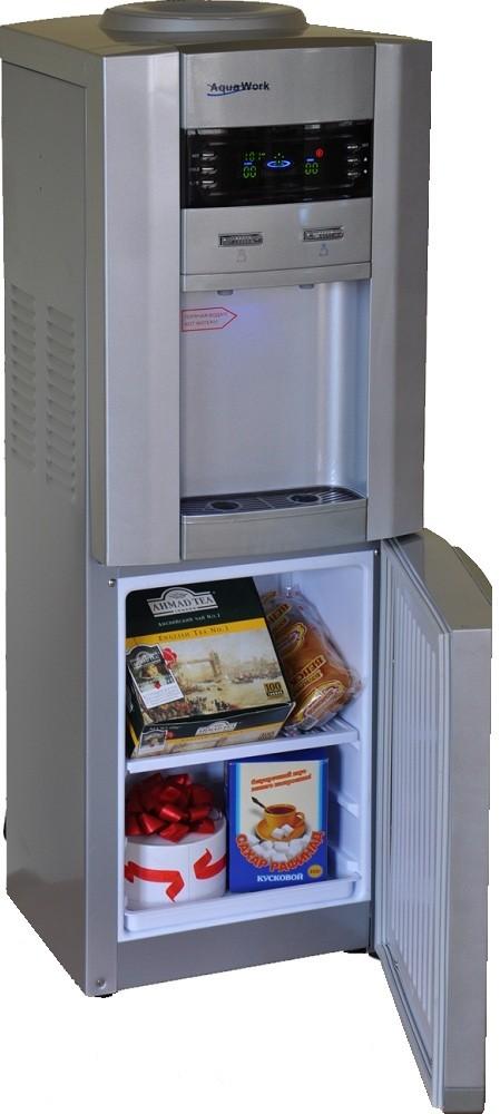 Кулер для воды Aqua Work V745BVLED с холодильником