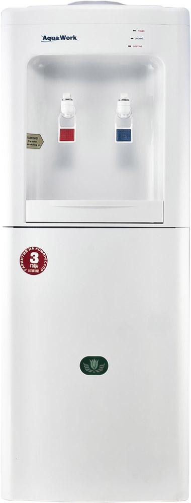Кулер для воды Aqua Work 50-L-B/C белый