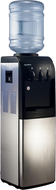 Кулер для воды Aqua Work 833-S-W со шкафчиком