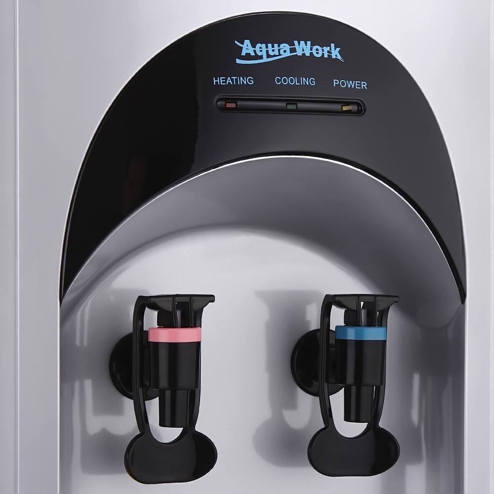 Кулер для воды Aqua Work 16-L/HLN серебристый