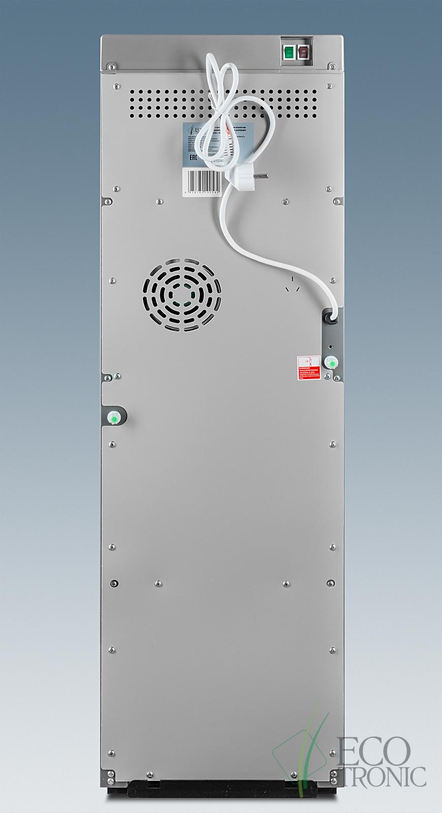 Кулер с нижней загрузкой бутыли Ecotronic M30-LXE silver+SS