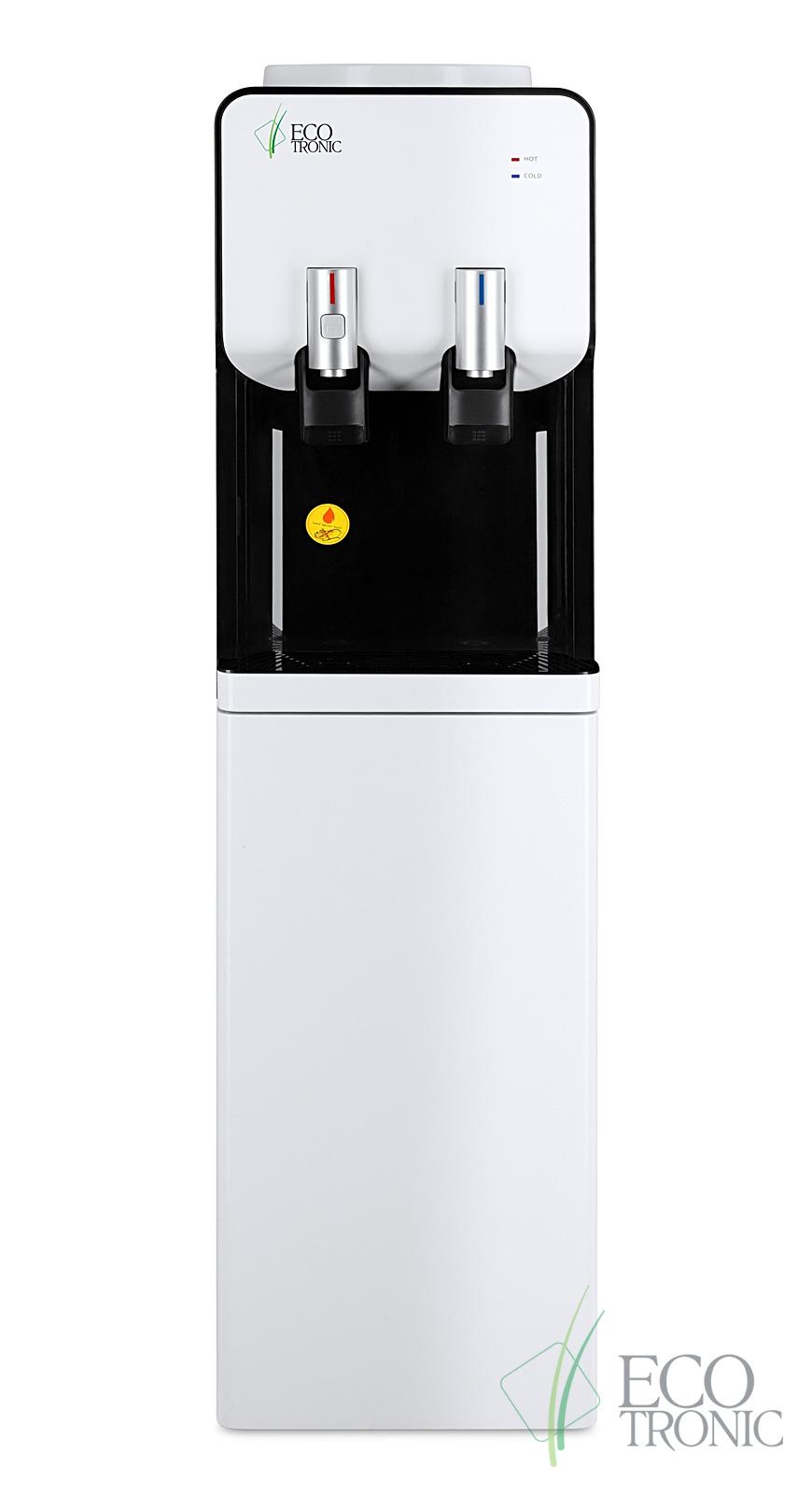 Кулер Ecotronic M40-LCE white+black