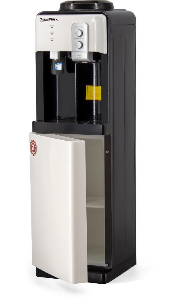 Кулер для воды Aqua Work 19-LD бело-черный