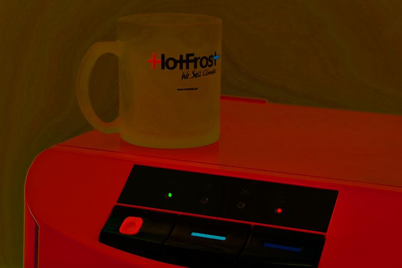 Кулер HotFrost 45A Red с нижней загрузкой бутыли