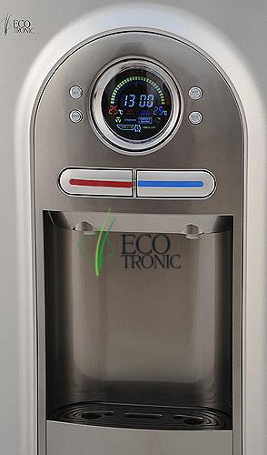 Кулер Ecotronic C2-TPM grey с дисплеем