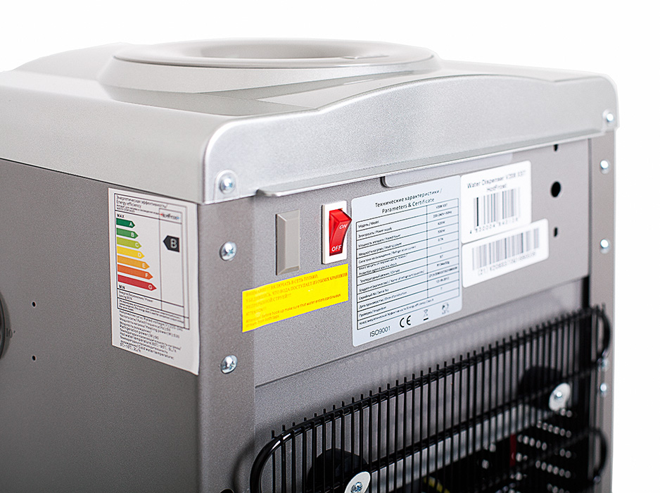 Кулер для воды HotFrost V208XST со шкафчиком с дисплеем