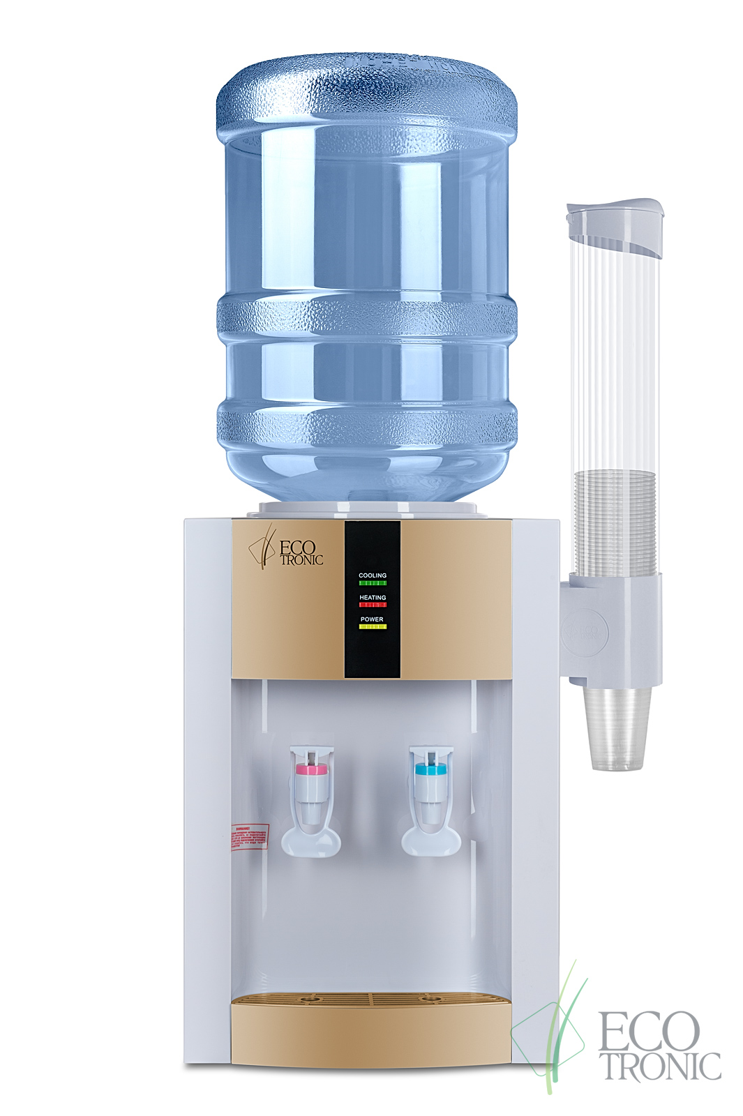 Кулер для воды Ecotronic H1-TE Gold с электронным охлаждением