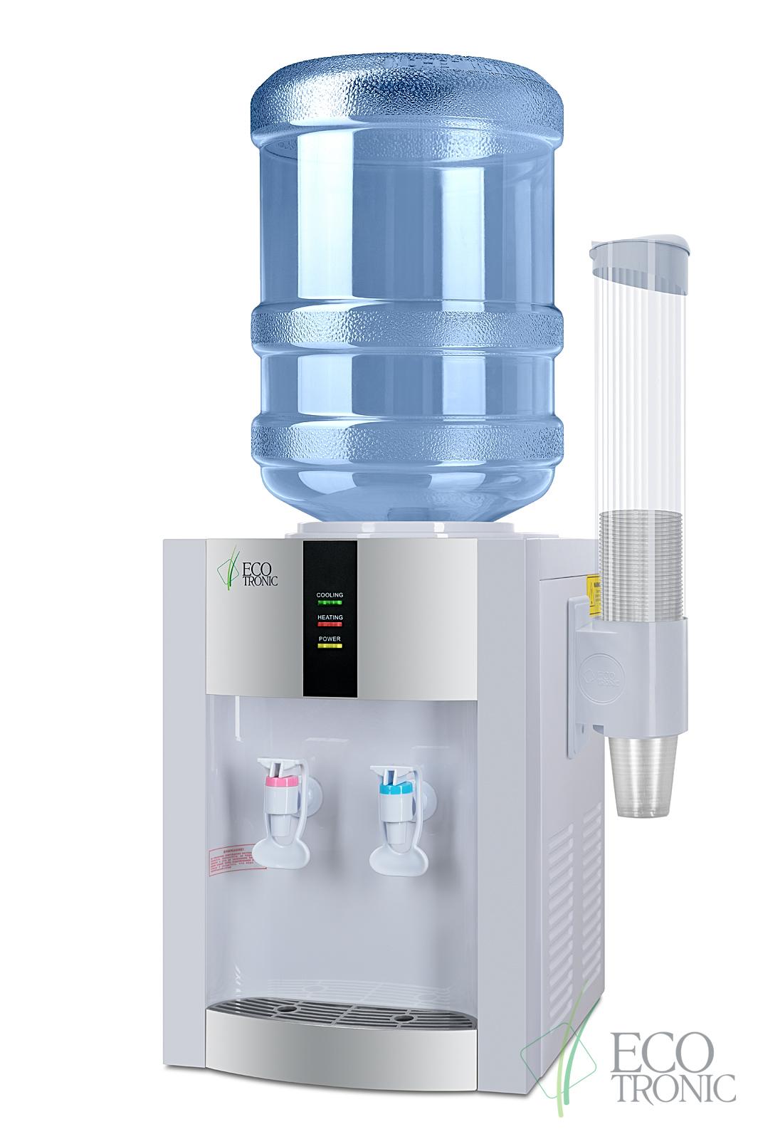 Кулер Ecotronic H1-T White с компрессорным охлаждением