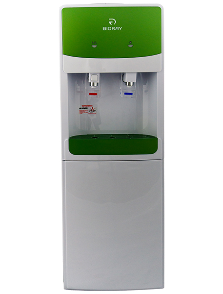 Кулер BIORAY WD 3307E White-Green со шкафчиком