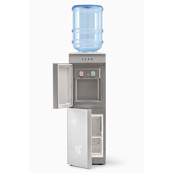 Кулер для воды LC-AEL-601B SILVER с холодильником