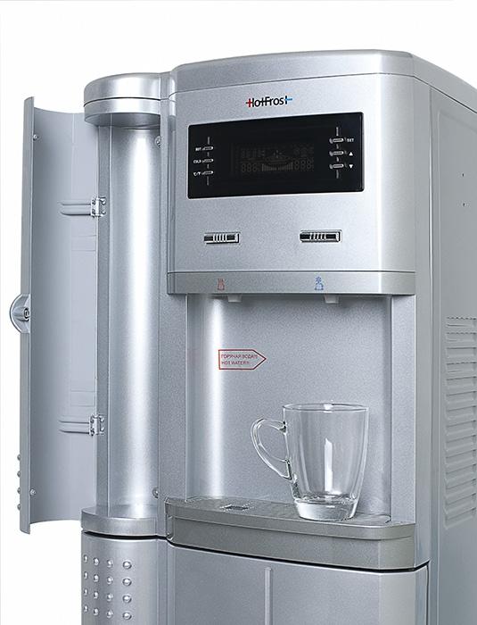 Кулер для воды с большим холодильником HotFrost V205BST