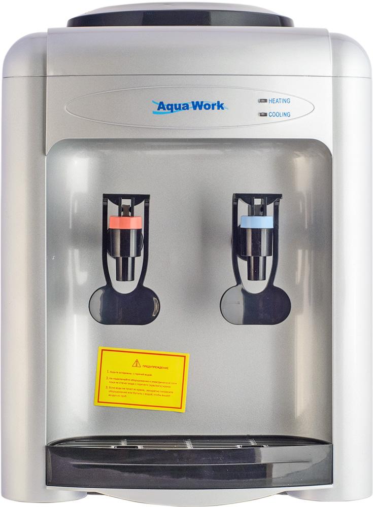 Кулер для воды Aqua Work 0.7-TK серебристый