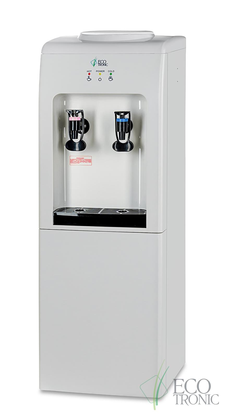 Кулер Ecotronic K2-L White-black