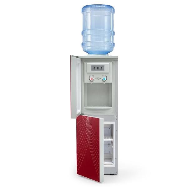 Кулер для воды с холодильником AEL 602B LC RED