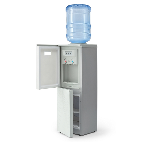Кулер для воды с холодильником AEL 602B LC WHITE