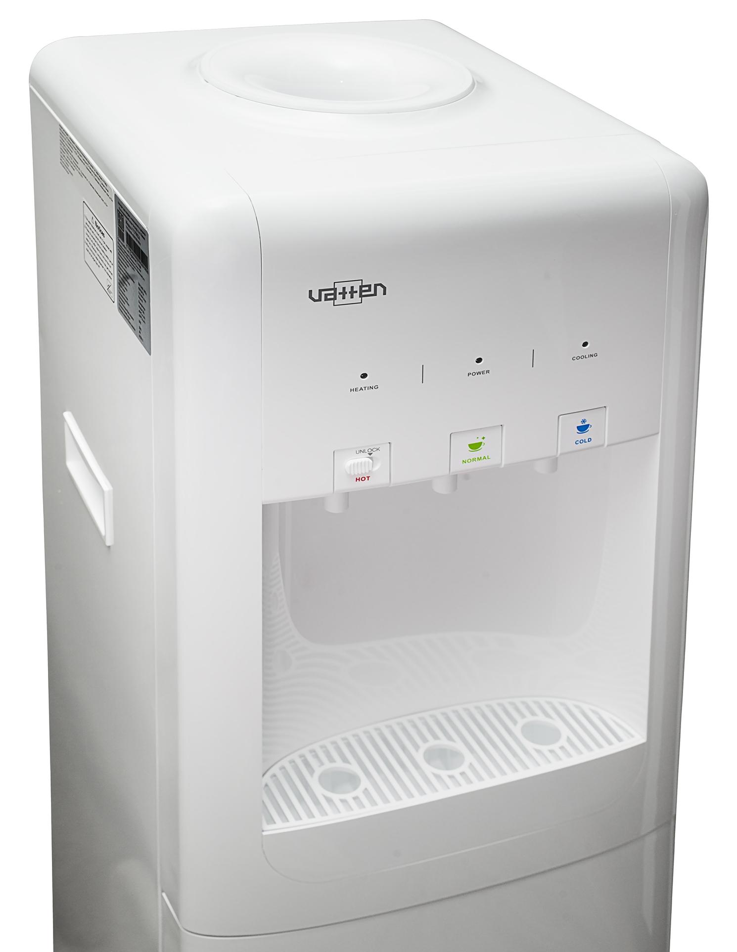 КУЛЕР ДЛЯ ВОДЫ VATTEN V17WKB с холодильником