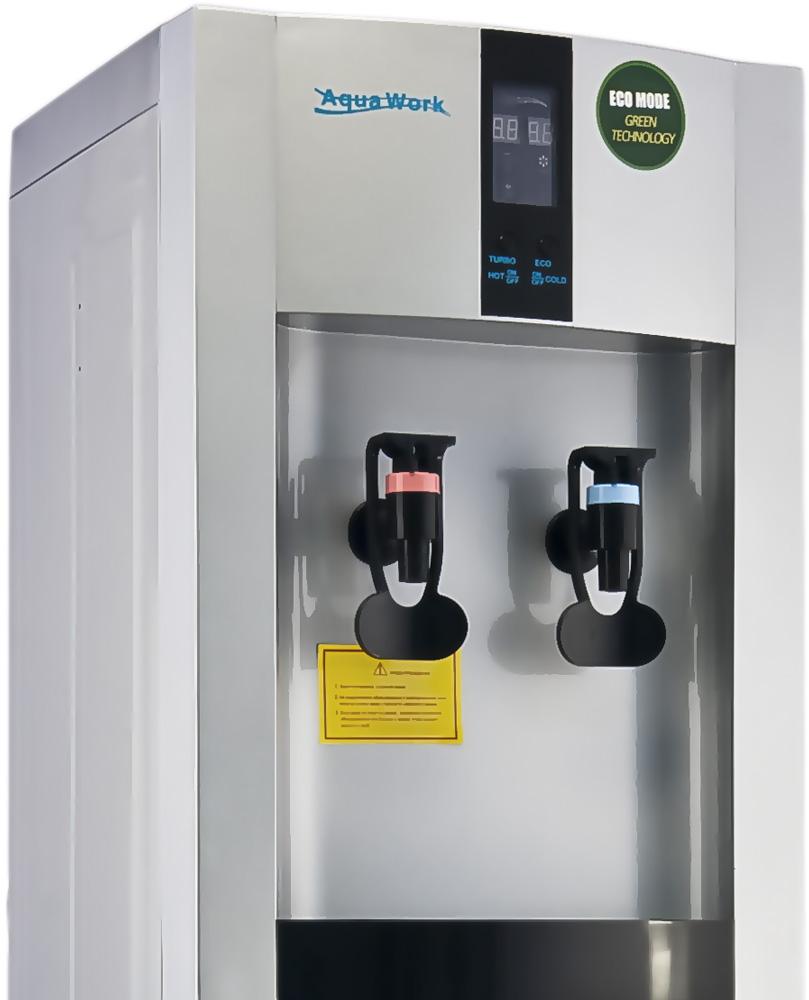 Кулер для воды Aqua Work 16-LD/EN-ST серебро