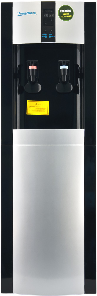 Кулер для воды Aqua Work 16-L/EN-ST черный