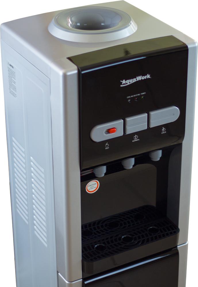 Кулер для воды Aqua Work R36-W со шкафчиком