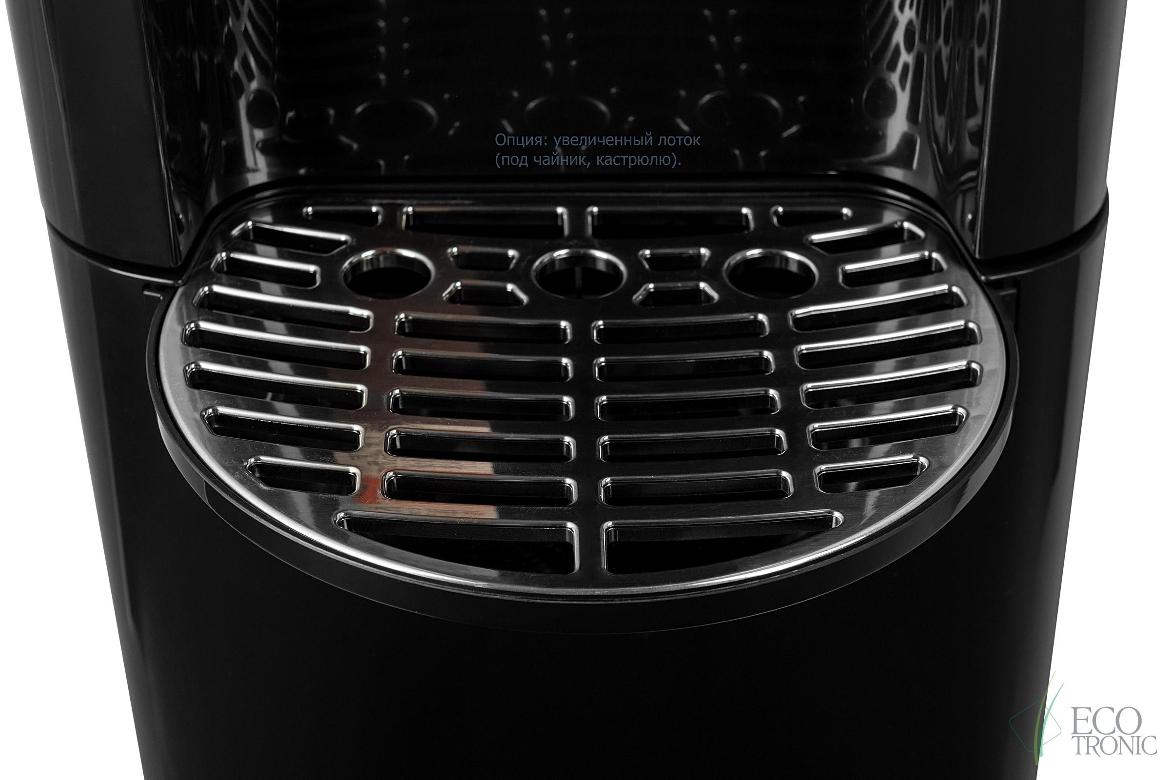 Кулер Ecotronic C8-LX black с нижней загрузкой бутыли