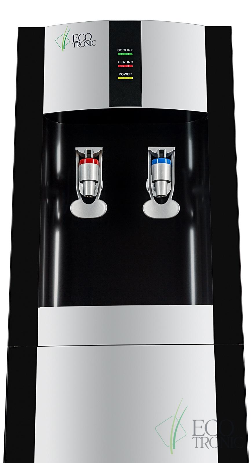 Кулер Ecotronic H1-LC Black со шкафчиком