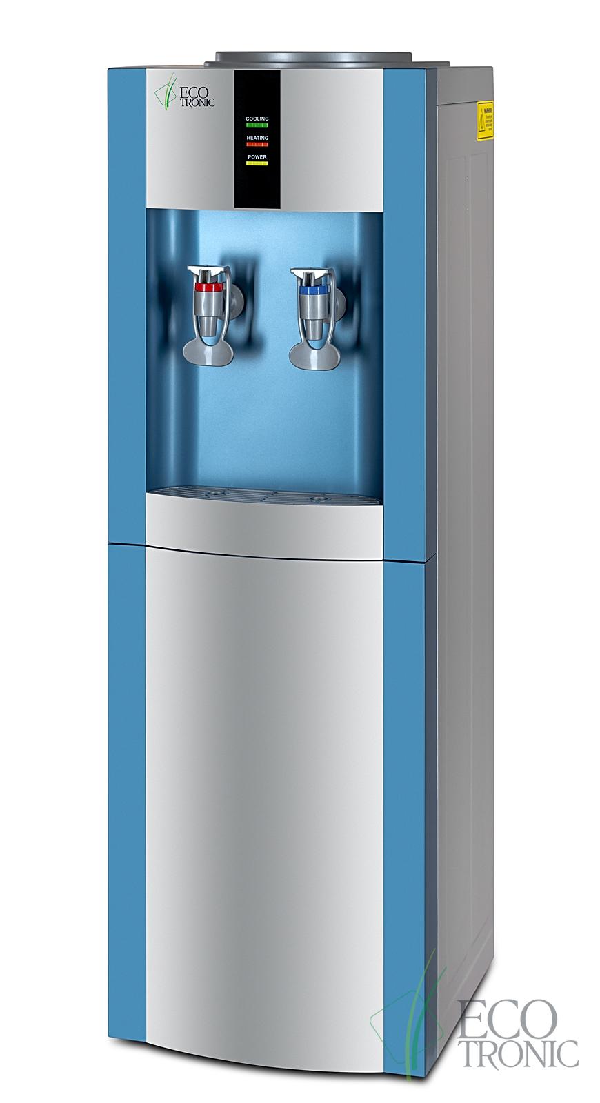 Кулер Ecotronic H1-LE с двойным блоком эл. охлаждения
