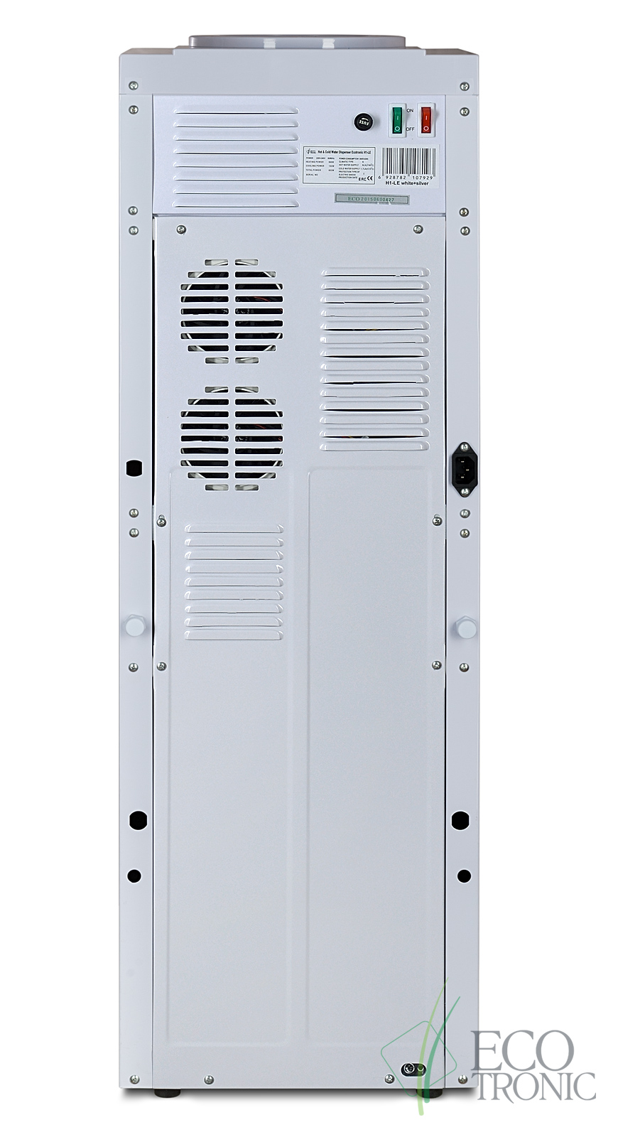 Кулер Ecotronic H1-LE White с двойным блоком эл. охлаждения