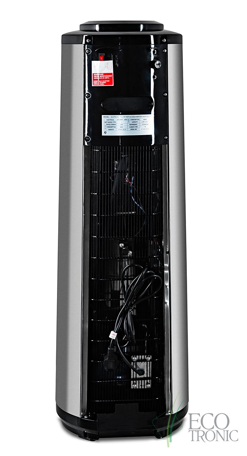 Кулер Ecotronic P3-LPM black с панелью управления