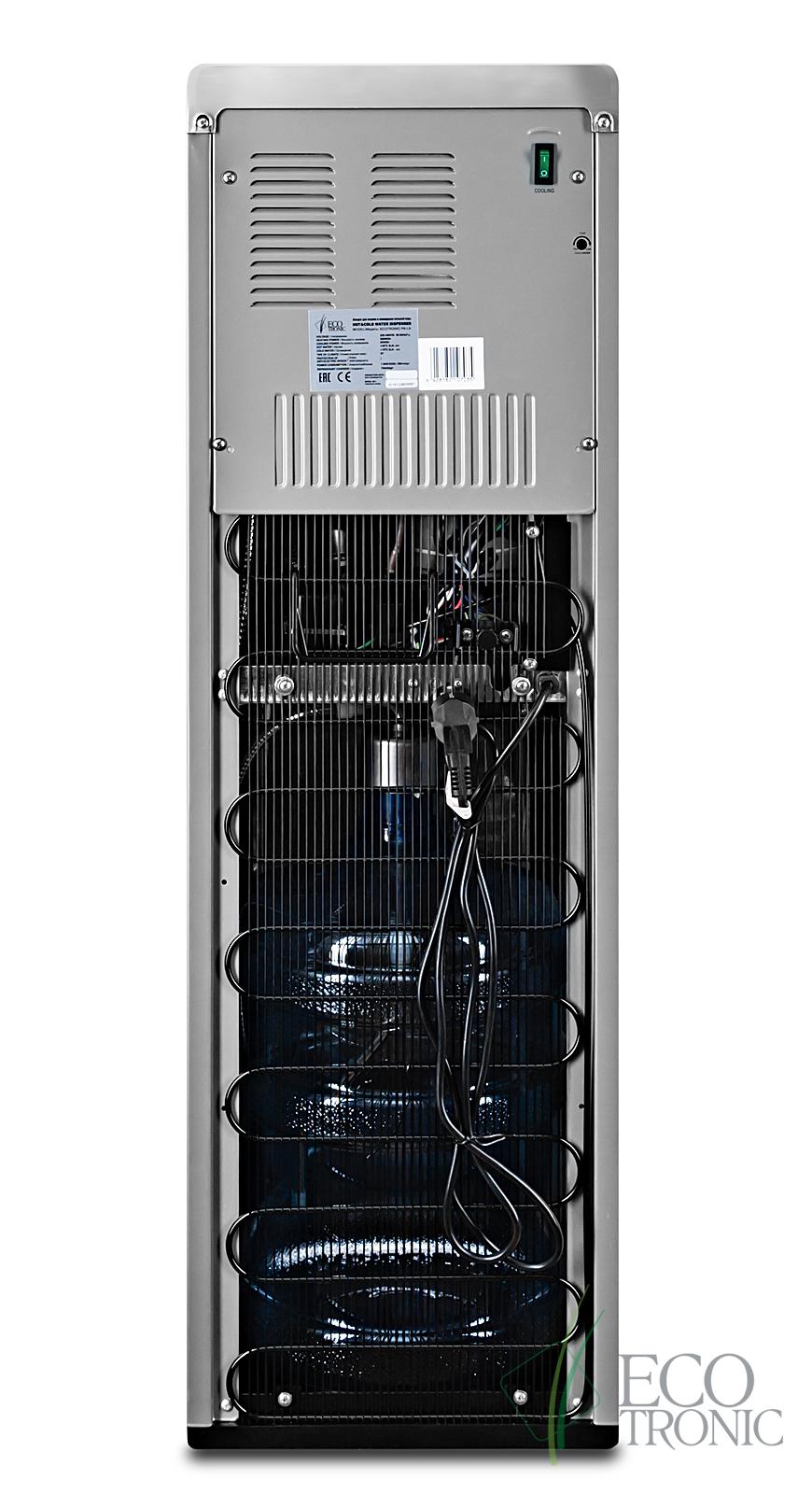 Кулер Ecotronic P9-LX Silver