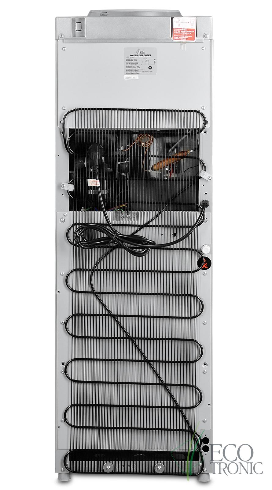 Кулер Ecotronic C3-LFPM black с холдильником