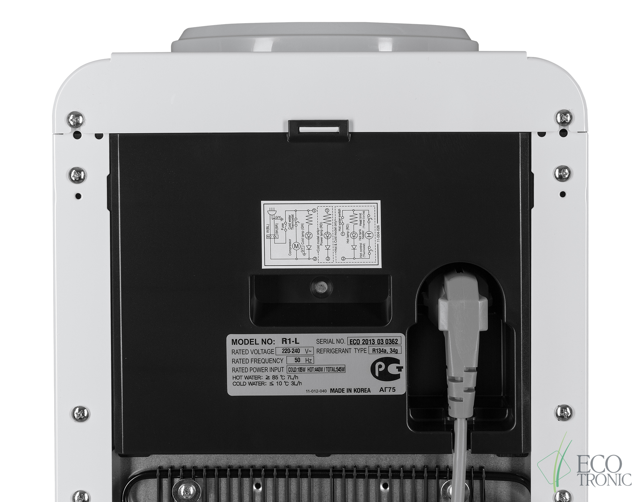 Кулер Ecotronic R1-L Корея