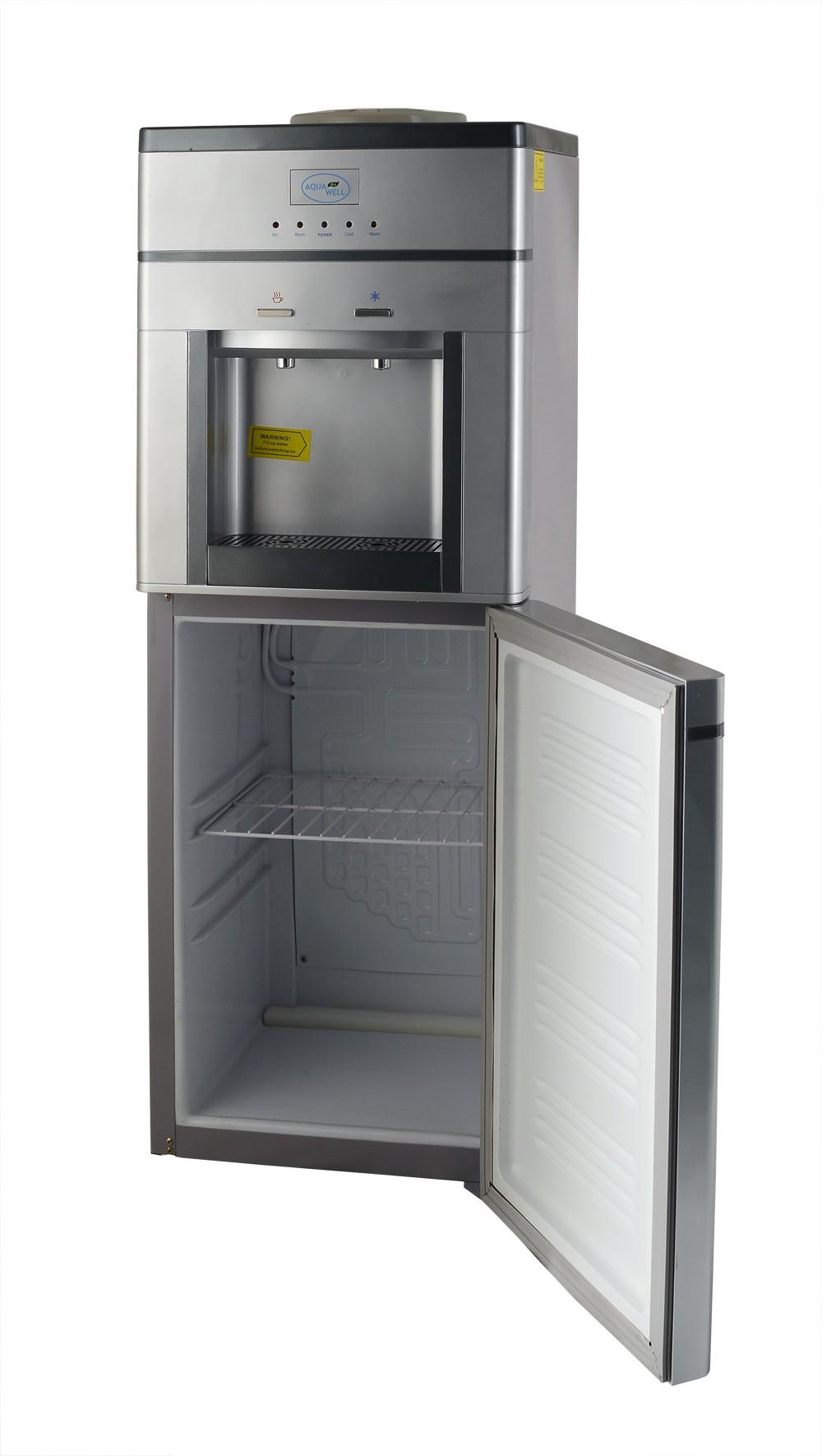Кулер для воды с большим холодильником Aqua Well BH-YLR-01C