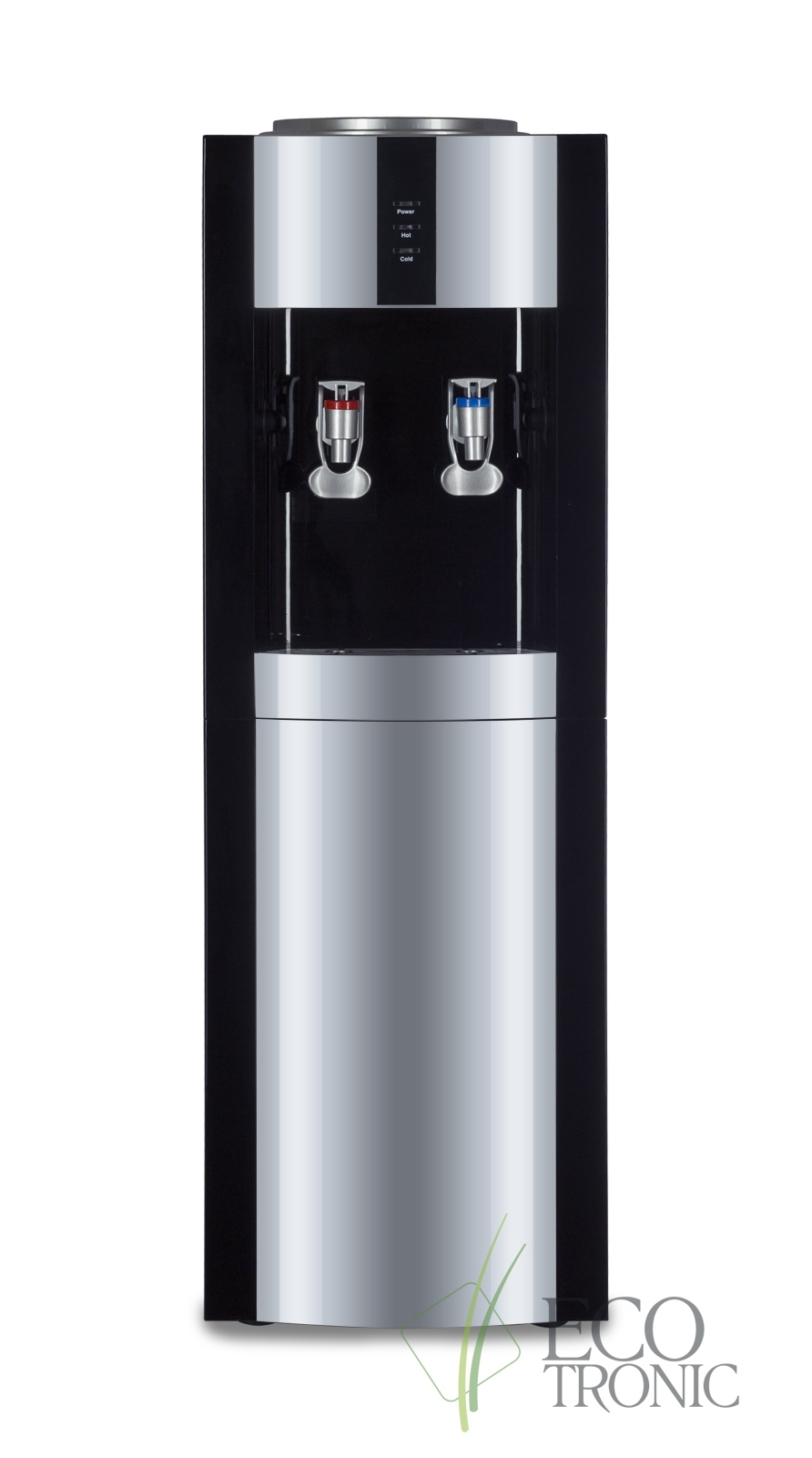 "Кулер Ecotronic ""Экочип"" V21-L Black+Silver"