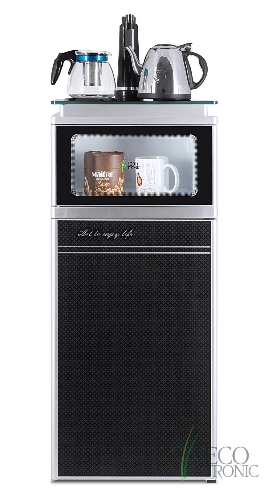Кулер с чайным столиком Тиабар Ecotronic TB3-LE UV