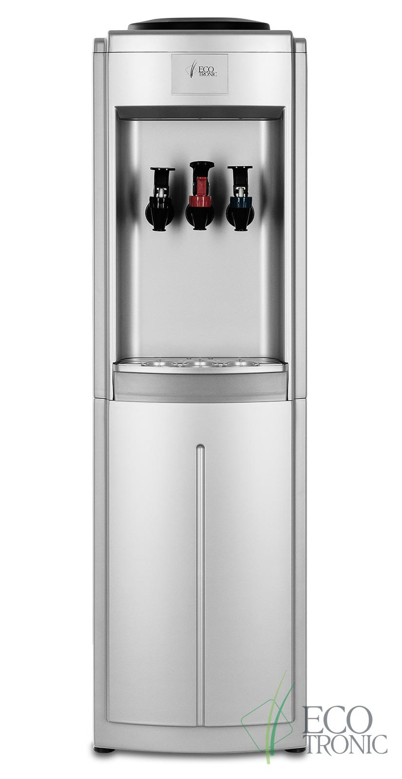 Кулер Ecotronic C9-L silver Super Chiller