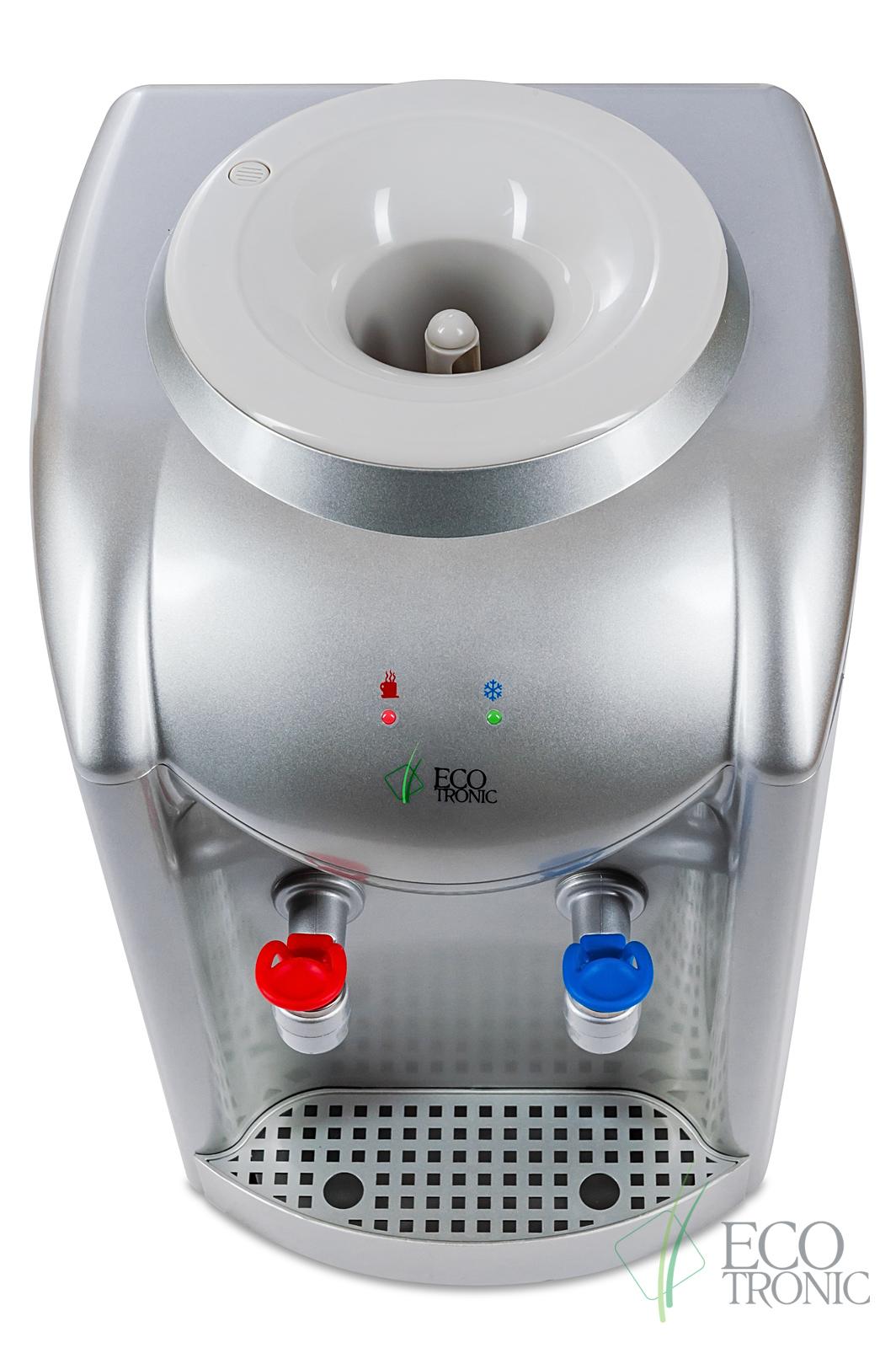 Кулер Ecotronic K1-TN silver без охлаждения