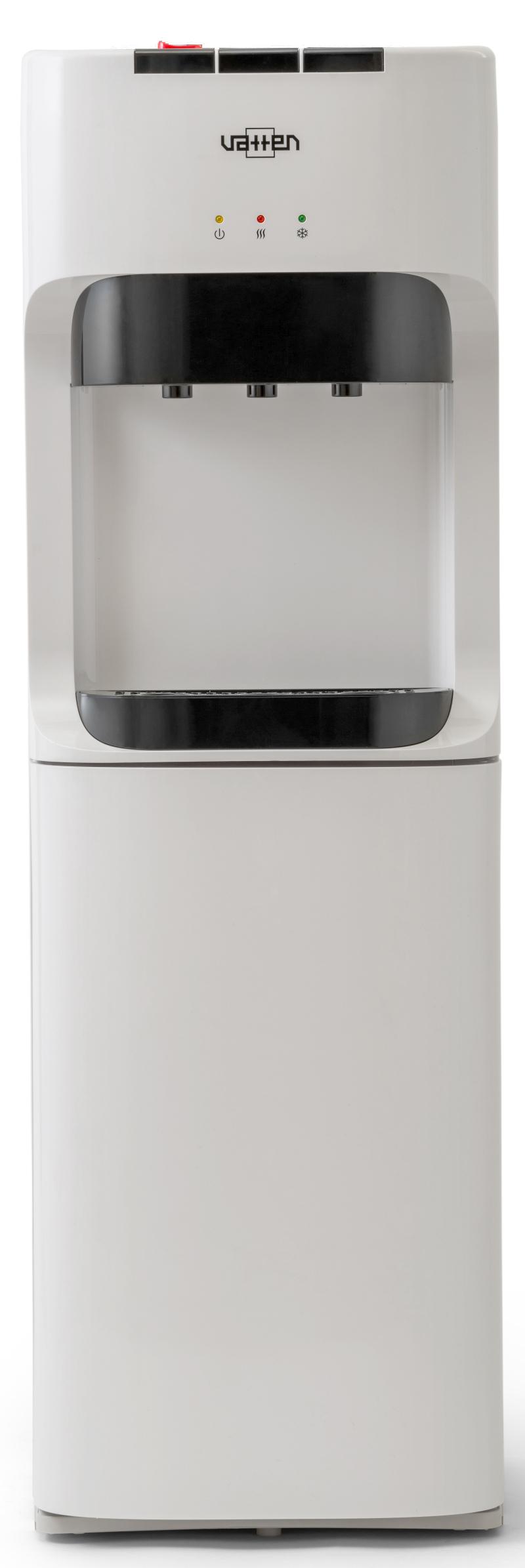 Кулер для воды VATTEN L45WE с нижней загрузкой бутыли