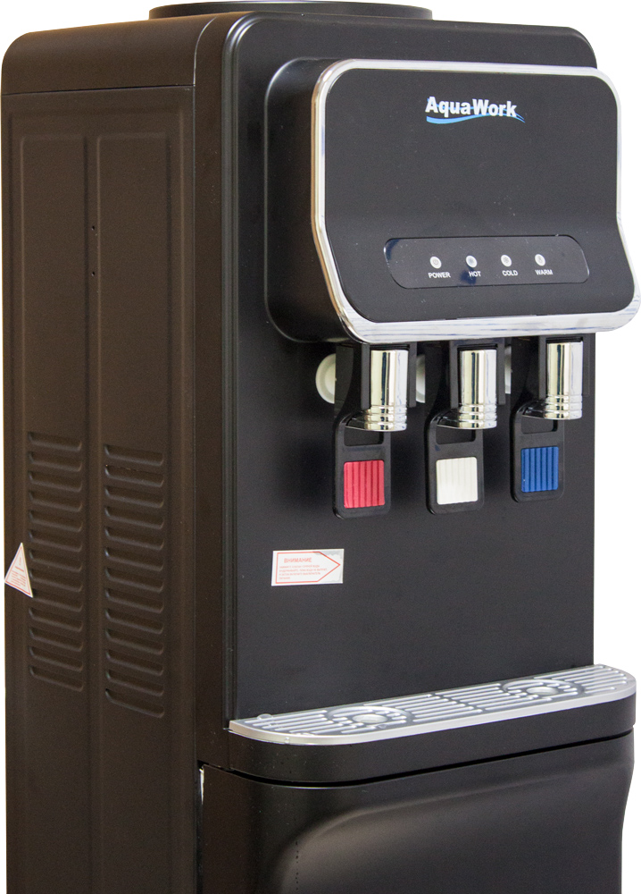 Кулер для воды Aqua Work V93-W черный