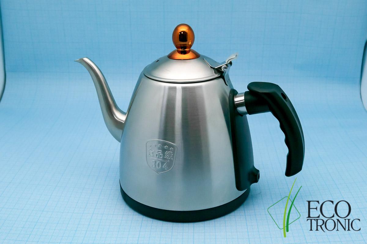 Чайник для тиабара металлический
